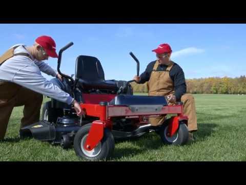 troy-bilt mustang 54 25hp 54 inch zero turn mower - youtube