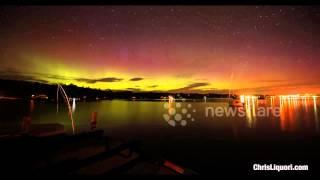Aurora Borealis 4K Timelapse