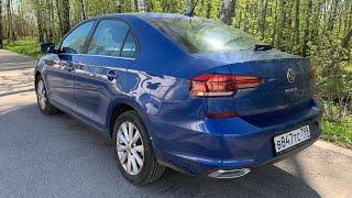 Volkswagen Polo с DSG на трассе - хорошо идёт?