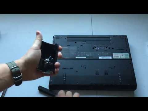How To Remove The Hard Drive From A Lenovo Thinkpad R61 Laptop Computer