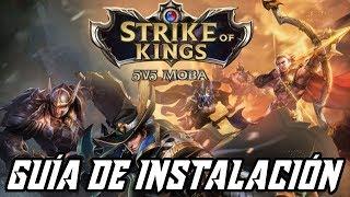 ¡TUTORIAL PARA INSTALAR STRIKE OF KINGS (SOK) EN TU DISPOSITIVO ANDROID! + Gameplay Español
