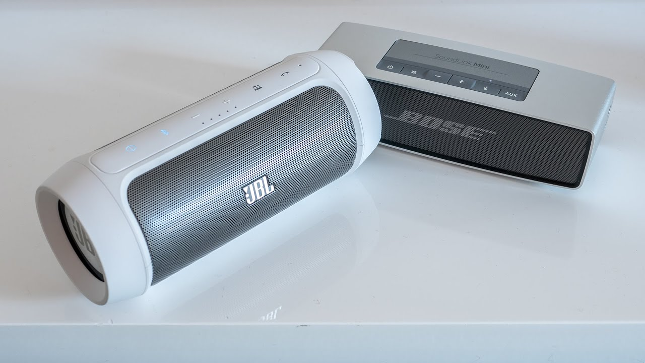 JBL Charge 2 vs. Bose Soundlink Mini
