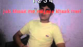 MAIN DUNIYA TERI CHOD CHALA 4444MOVIE KARAOKE ANUJ