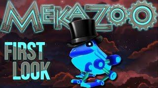 Mekazoo - First Look - Super Fancy Animals! [Let's Play Mekazoo Gameplay Ep 1]