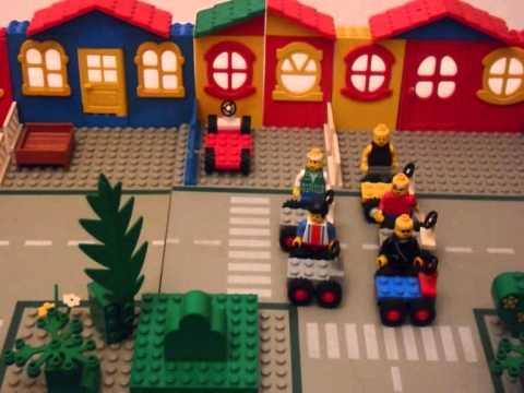 GLAD YOU CAME: LEGO STYLE - YouTube