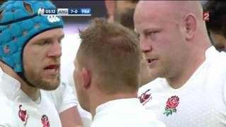 Rugby Tournoi 6 Nations Angleterre vs France 2015