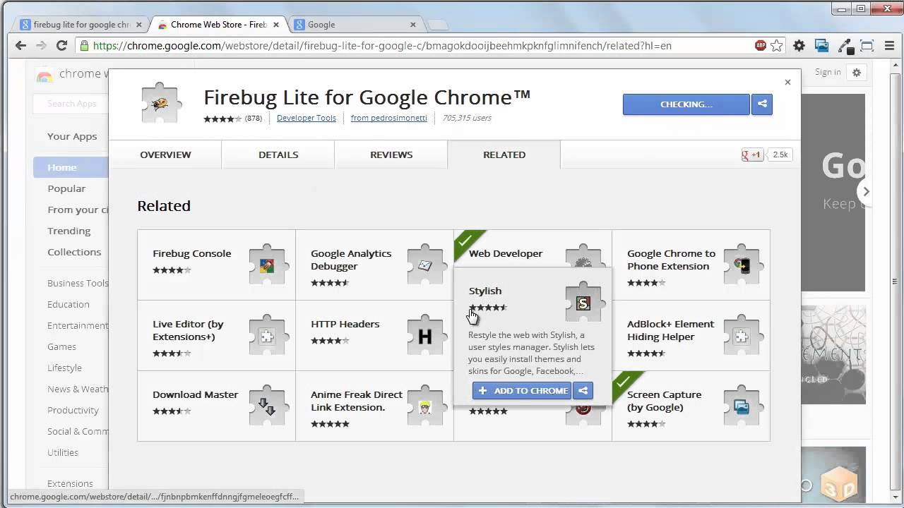 How to add Firebug Lite for Google Chrome ? [onlineseleniumtraining com]