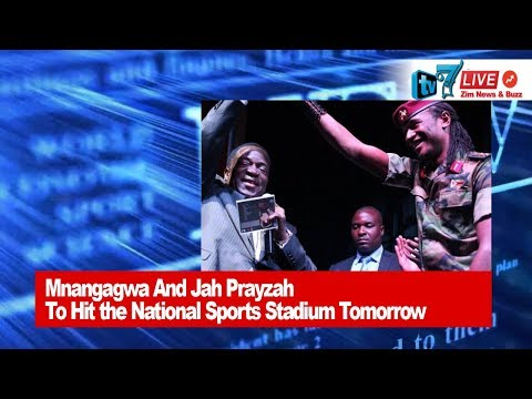 President Mnangagwa and Jah Prayzah To Hit The National Sports Stadium Tomorrow