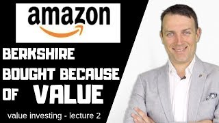 Amazon Stock Analysis - Value Investing School - Why Did Berkshire Buy!