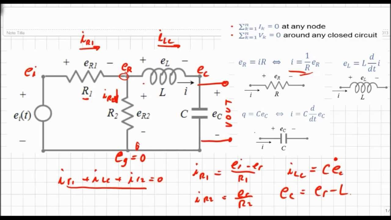 Inductor Circuit Examples Great Installation Of Wiring Diagram Inductors In Series And Circuits Eme 3214 Rcl To Laplace Example Youtube Rh Com Capacitor Analysis