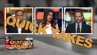 Quick Takes On Lonzo Ball, The Chargers, Stadium Delay, And Tim Tebow   First Take   May 19, 2017