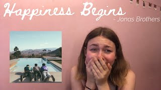 REACTING TO JONAS BROTHERS NEW ALBUM HAPPINESS BEGINS