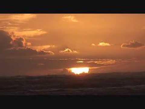 Hawaiian Sunrise with Hawaiian music