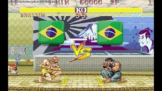 FightCade Street Fighter II': Champion Edition online matches casua...
