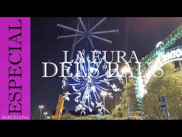 La Fura dels Baus en la feria de Navidad del Port Vell | Barcelona