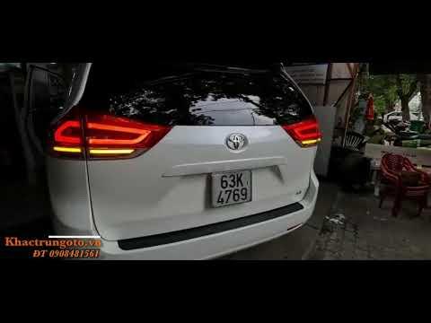 ĐỘ ĐÈN Ô TÔ | TOYOTA SIENNA 2012 | Nâng cấp full đồ chơi -  Bi X Led Pro Domax - Led Audi Signal