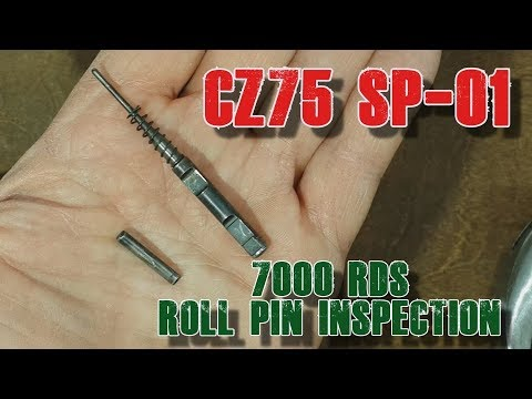 7000 rds CZ75 Roll Pin Inspection