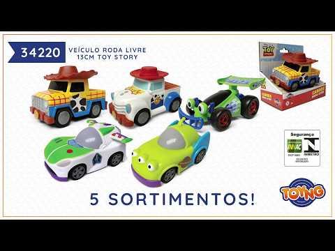 Toy Story - Carrinho 13cm Roda Livre (REF 34220)