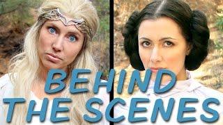 GALADRIEL vs LEIA Behind the Scenes (Princess Rap Battle) *explicit* thumbnail
