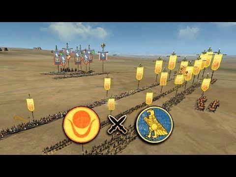 La BATALLA PERFECTA: KUSH vs EGIPTO en ROME 2 TOTAL WAR