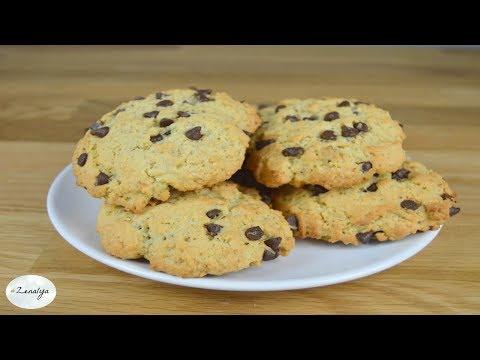 cookies-flocons-d'avoine-et-chocolat-noir