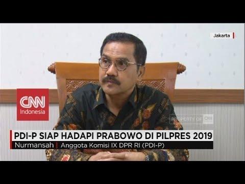 PDI-P Siap Hadapi Prabowo Di Pilpres 2019