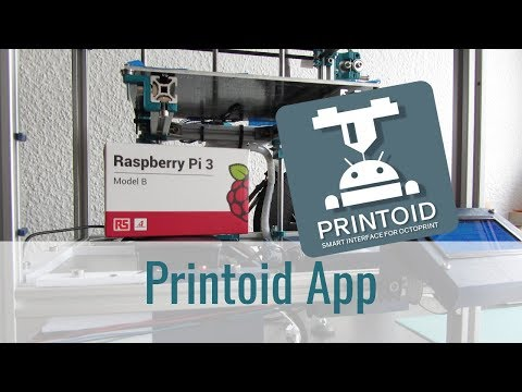 Anthony STEPHAN is creating Printoid for OctoPrint, an amazing