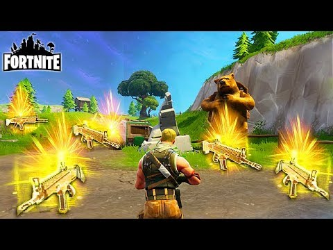 UNLIMITED GOLD SCARS! - Fortnite Funny Fails and WTF ...
