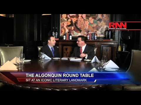 The Algonquin Round Table: Sit At An Iconic Literary Landmark