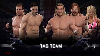 WWE 2K17 - Finn Balor and Dolph Ziggler VS Blake and Murphy with Alexa Bliss