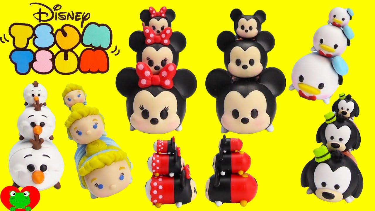 Cómo Dibujar Olaf En La Versión Disney Tsum Tsum: Disney Tsum Tsum Collectible Stackable Figures Mickey