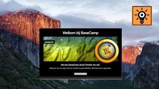 Garmin BaseCamp voor apple gebruikers; Les #;1 Installatie