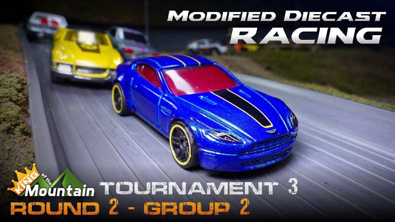KotM Tournament 3 🏁 Round 2-2 Modified Diecast Car Racing