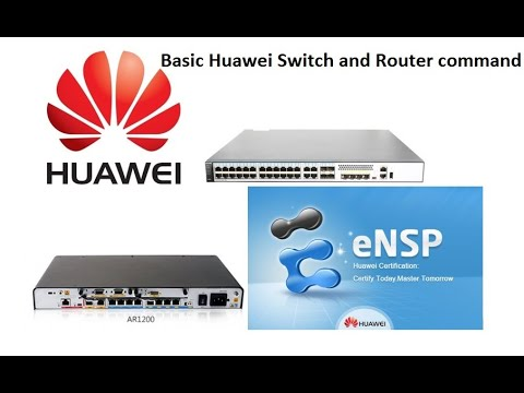 Basic Huawei Switch And Router Commands
