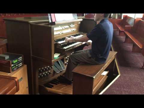 Alleluia Sing to Jesus on Allen Organ