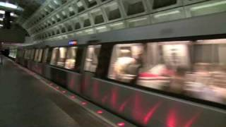 HD-WMATA Metro Trains at Federal Triangle