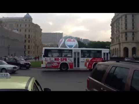 Azneft Square In Baku, Azerbaijan [11.05.2012]
