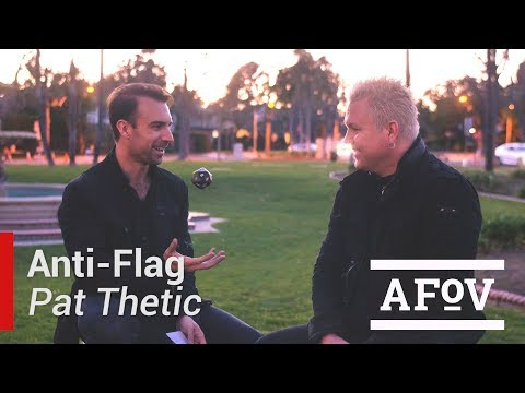ANTI-FLAG - Pat Thetic Interview | A Fistful Of Vinyl
