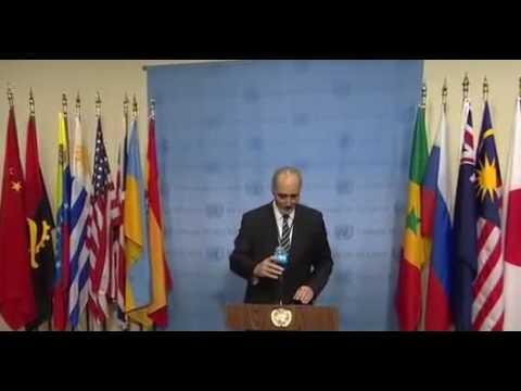 Ambassador of SYRIA(Basher Jaafari,) reveals real reason for UN resolution 23-28