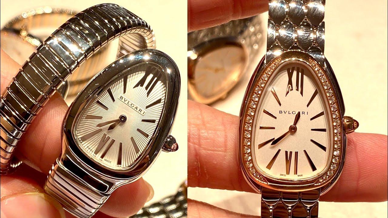 ป้ายยากับ BVLGARI Serpenti Watch (ในหลายๆ variations) - นาฬิกาที่มาแรงมากๆในเวลานี้ เริ่มต้นที่ 140k