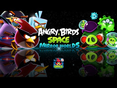 Angry birds space mirror worlds out now youtube - Angry birds space gratuit ...
