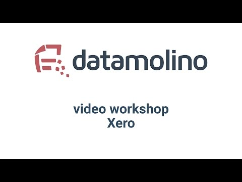 Datamolino and Xero Walkthrough in 10 minutes