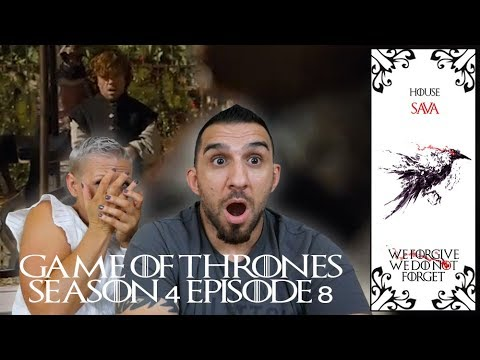 Game Of Thrones Season 4 Episode 8 'The Mountain And The Viper' REACTION!!