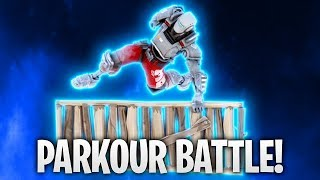 FIRST PARKOUR BATTLE WITH SKIN SELL! 🔥 | Fortnite: Battle Royale