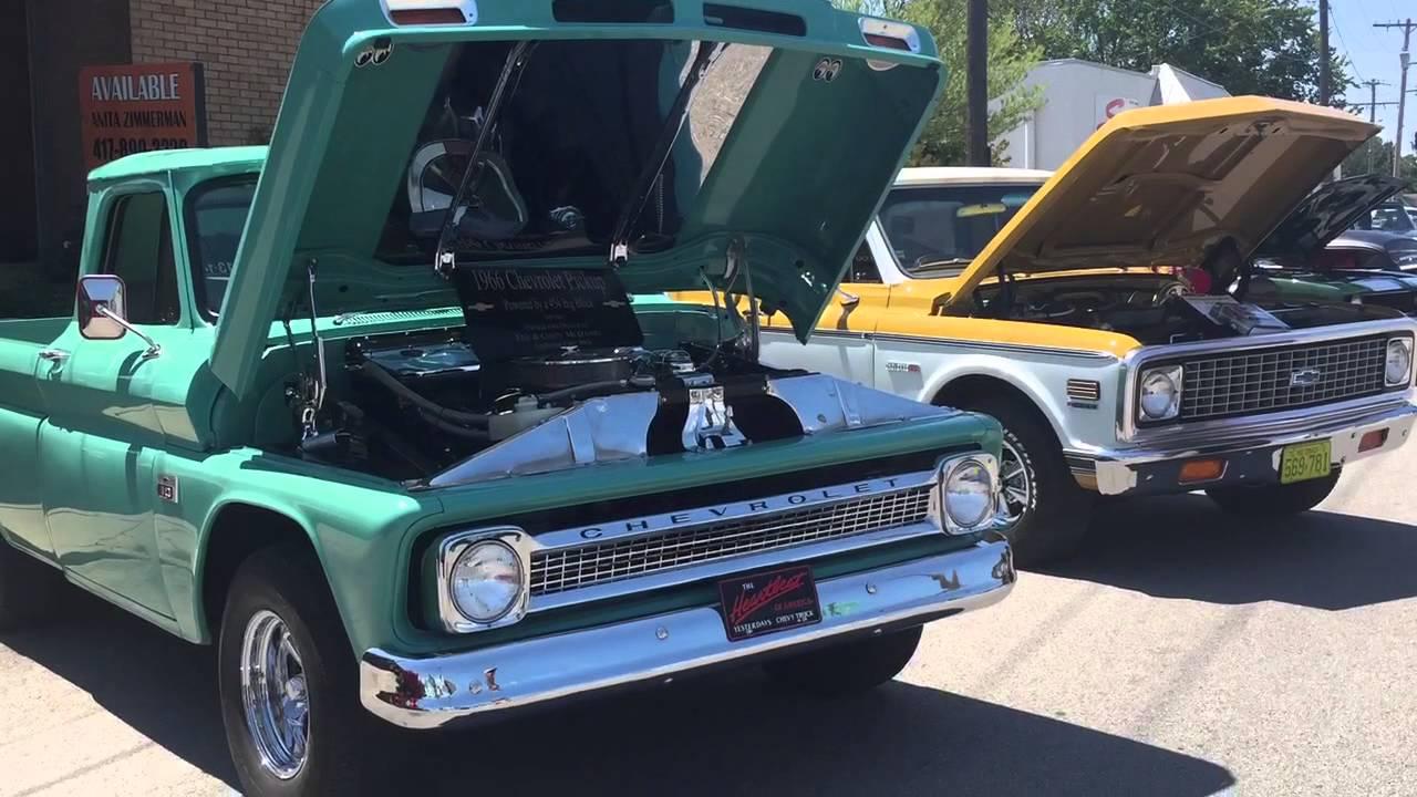 Route 66 Festival 2015 Vintage Cars Trucks - YouTube