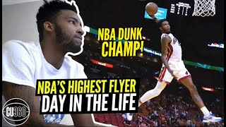The NBA's Highest Flyer Is A Bigger Gamer Than You!! Derrick Jones Day In The Life!