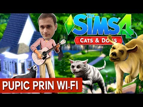 Pupic prin Wi-Fi /The Sims 4 : Cats & Dogs