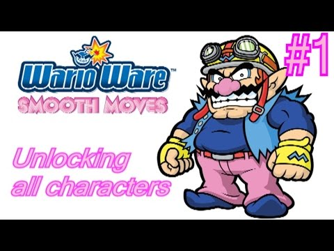 Wii Longplay - Warioware: Smooth moves part 1 (Everything unlocked)
