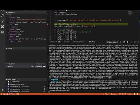 Live Coding: Job Site Scraping with Python, Part 2
