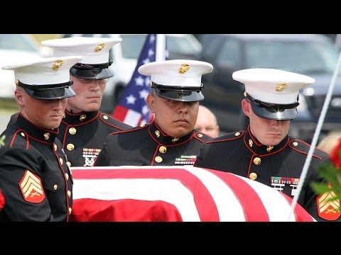 Lance Cpl  Roger Hager's burial part 4 of 4